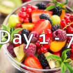 21 Day Daniel Fast - Day 1 - 7
