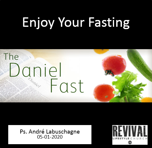 Enjoy Your Fasting